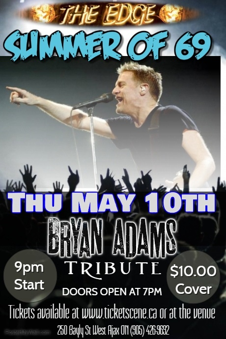 Bryan Adams Tribute featuring