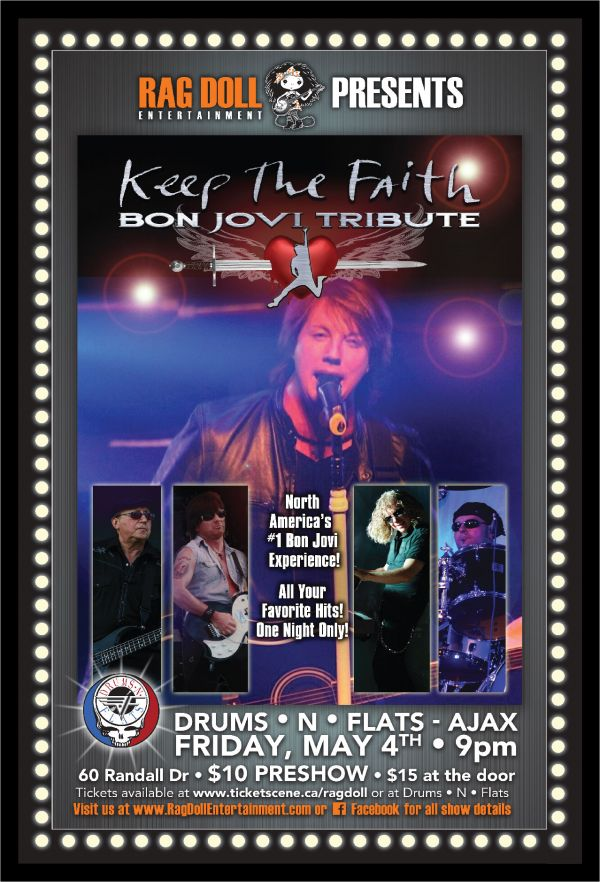 KEEP THE FAITH - The Best Live Bon Jovi Concert Experience!