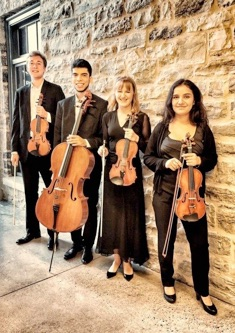 Accomplished graduate student string quartet