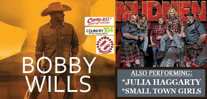 Tillsonburg Kinsmen Bandshell Bash ft. Bobby Wills