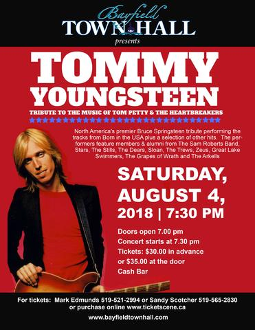Tommy Youngsteen - Tribute to the Music of Tom Petty & The Heartbreakers