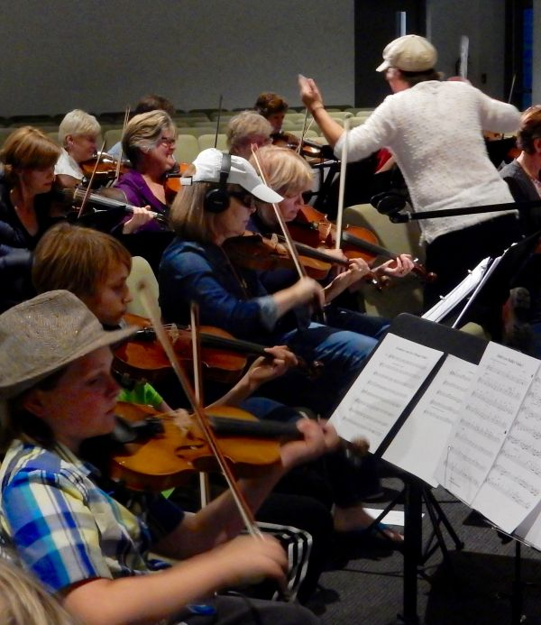 The Karen Reed Fiddle Orchestra Spring Concert
