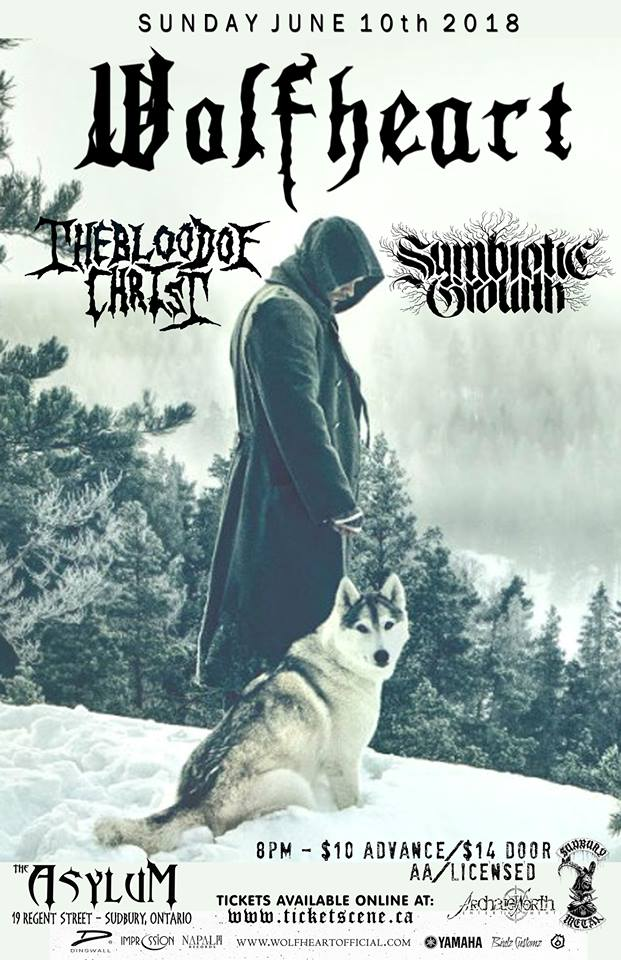 Wolfheart, Blood of Christ, Symbiotic Growth - Live in Sudbury