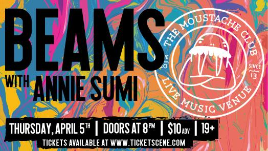 Beams with Annie Sumi Live at The Moustache Club