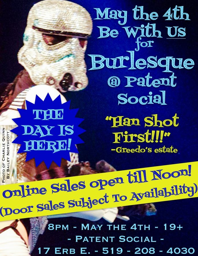 May the 4th Burlesque @ Patent Social