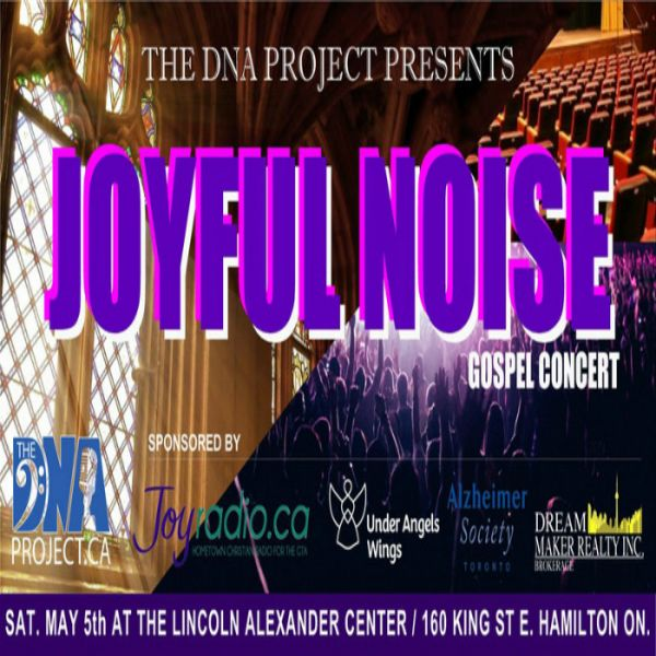 The DNA Project presents JOYFUL NOISE!