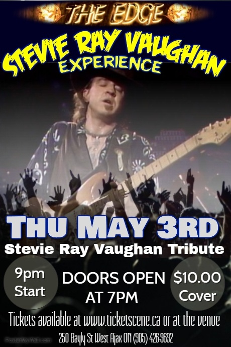 Stevie Ray Vaughan Tribute featuring The Stevie Ray Vaughan Experience
