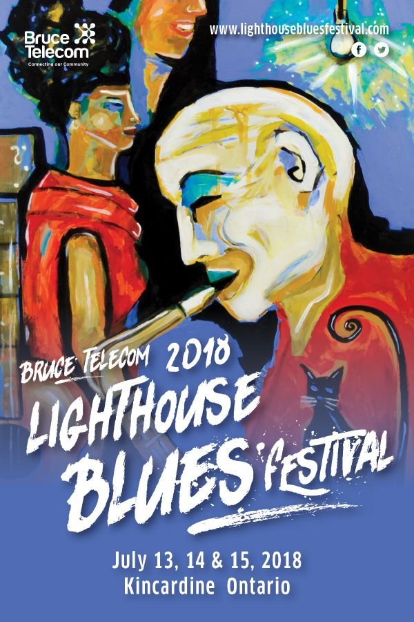 Bruce Telecom Lighthouse Blues Festival (Sat)