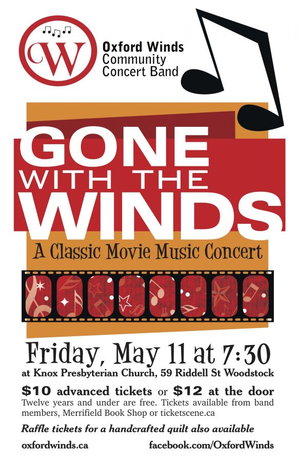 Gone With the Winds - A Classic Movie Music Concert