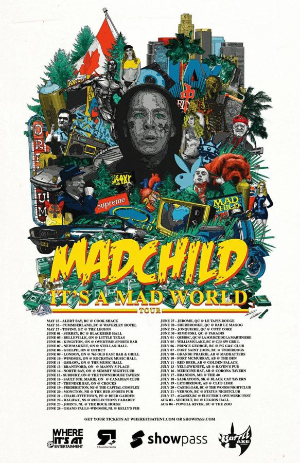 Madchild live in Sault Ste. Marie Saturday June 16th at Canadian Night Club