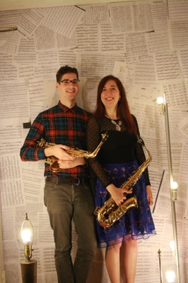 Innovative Saxophone Duo in New Music