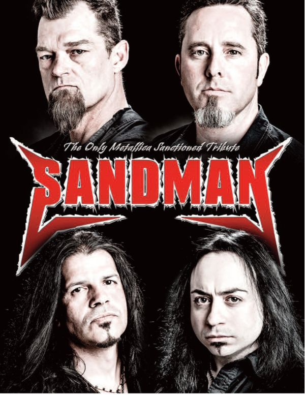 Sandman Metallica Tribute