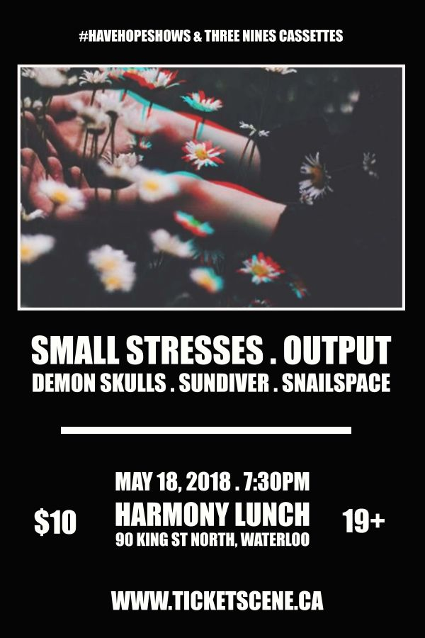 Small Stresses, Output and more - Waterloo