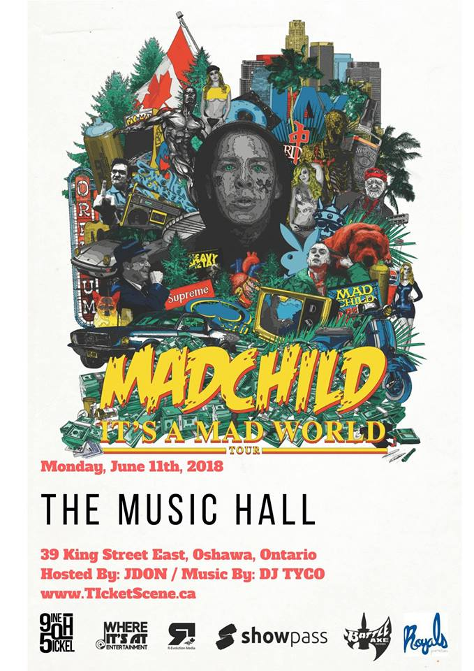 MAD CHILD - It's A Mad World Tour