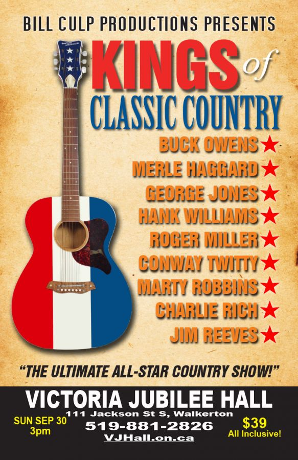 Kings of Classic Country - Bill Culp Productions