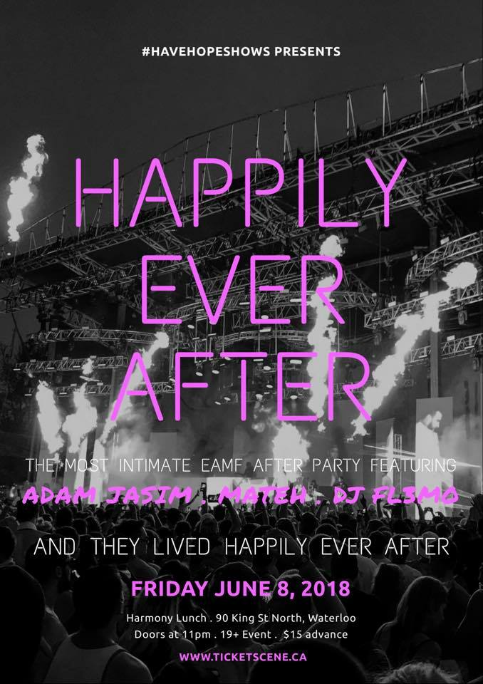 Happily Ever After - EAMF Afterparty