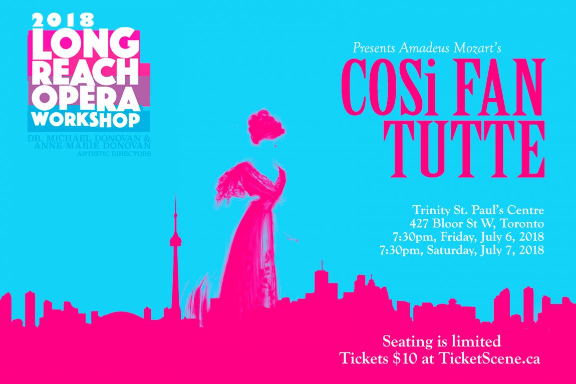 Long Reach Opera Workshop presents Mozart's Cosi fan tutte