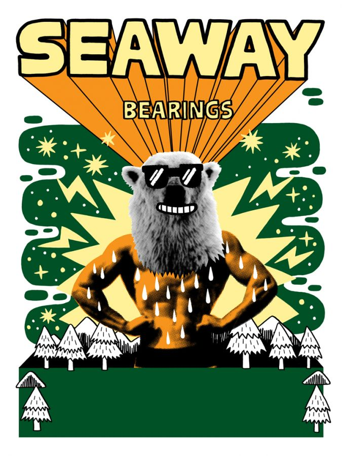 Seaway + Bearings LIVE @ The Working Class (Timmins, ON)