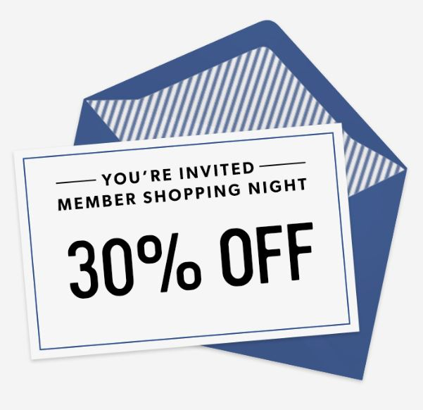 Member Shopping Night (Coles Station Mall)