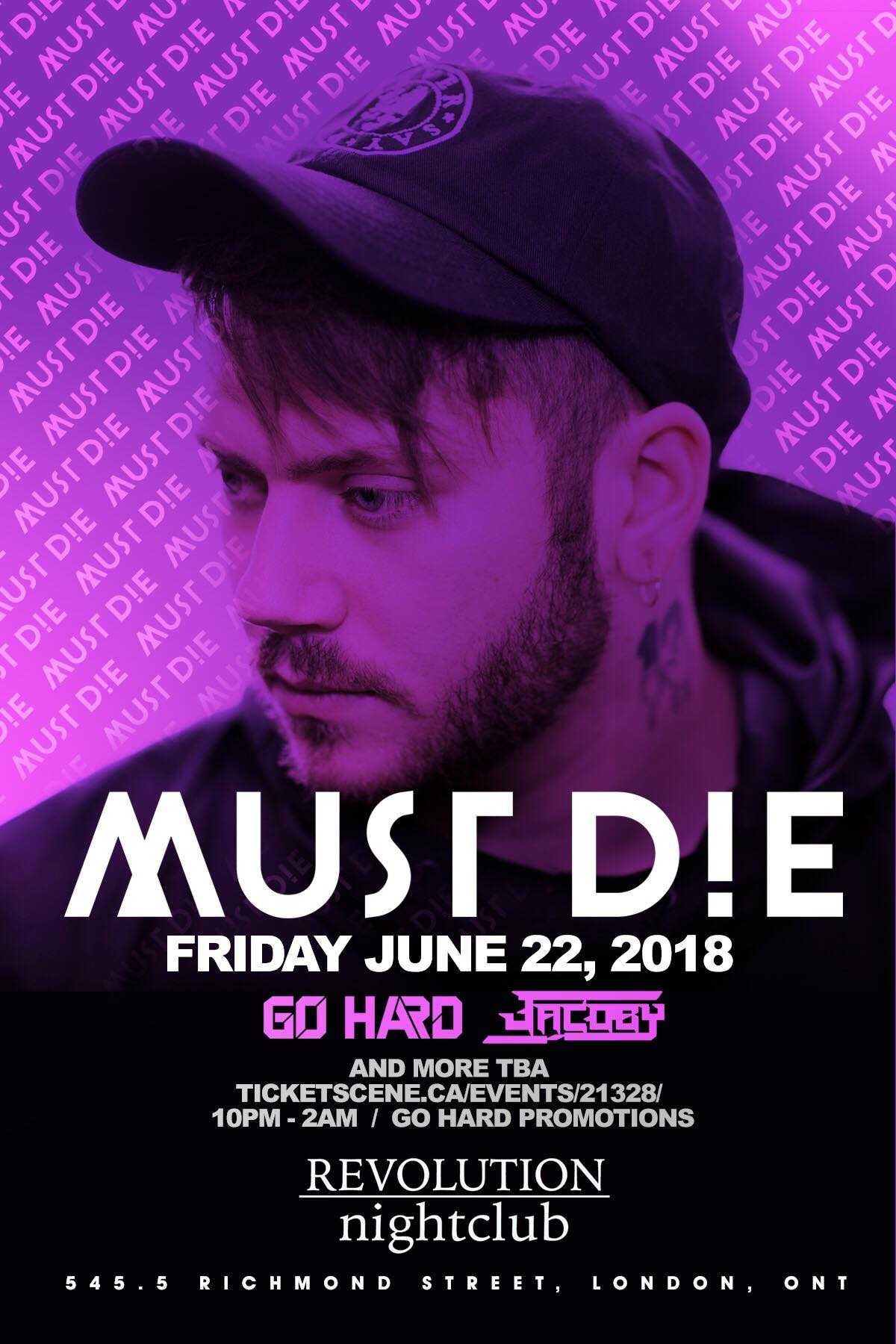 MUST DIE! at Revolution Nightclub