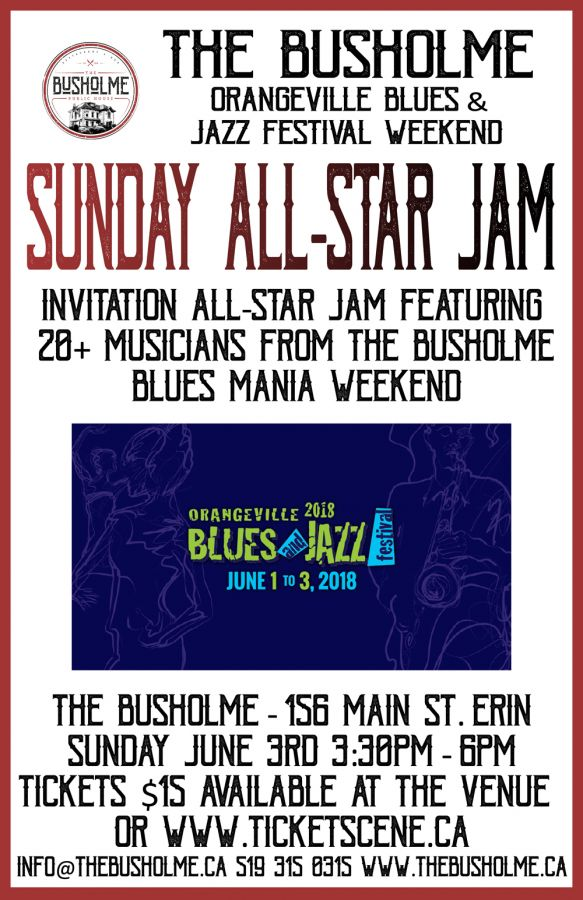 The Busholme All-Star invitational Jam