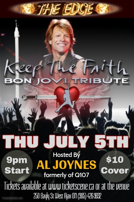 Bon Jovi Tribute featuring