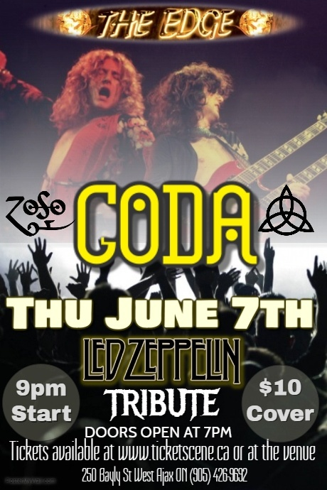 Led Zeppelin Tribute featuring