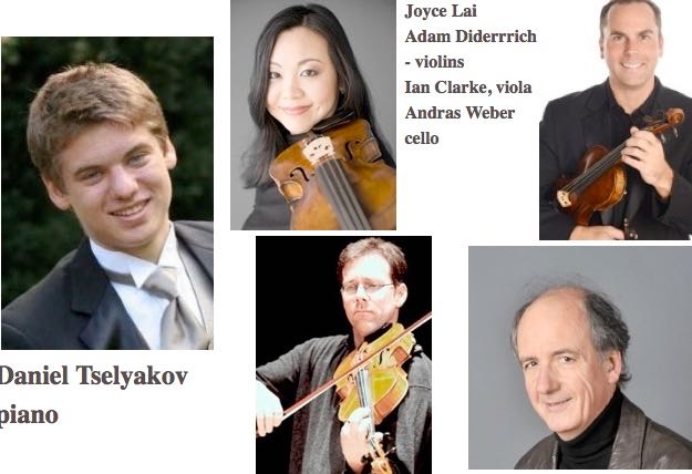 Daniel Tselyakov plays Mozart with a fine string quartet