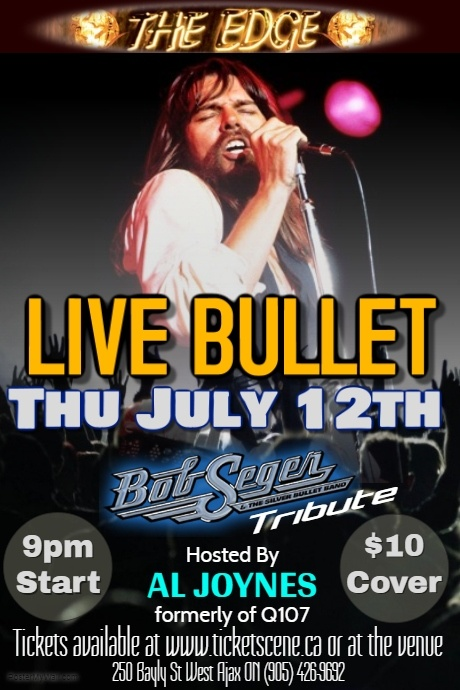 Bob Seger tribute featuring