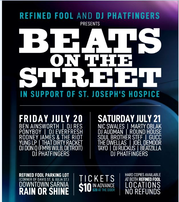 Beats On The Street 2018 - Friday July 20