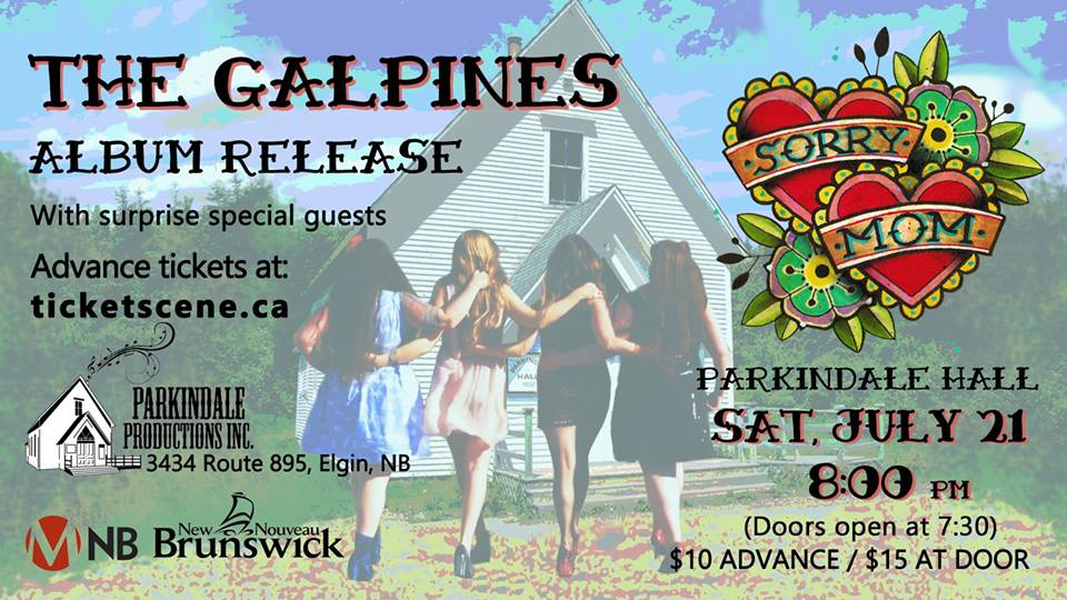 Galpines CD Release Show Parkindale Hall