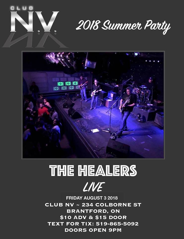 The Healers LIVE
