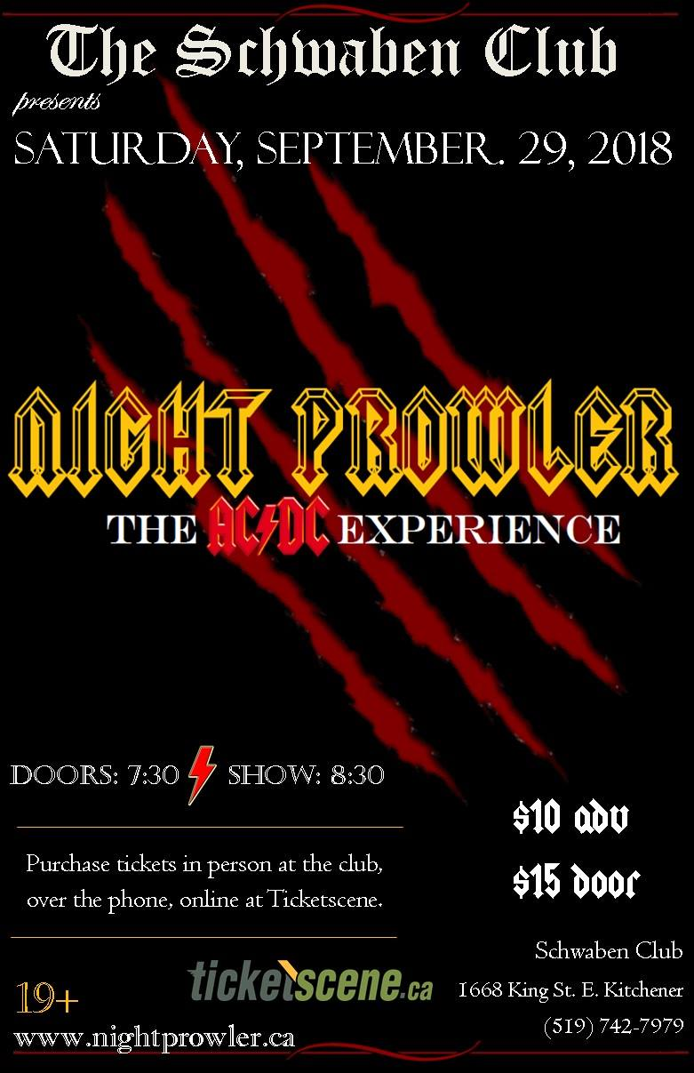 Night Prowler - The ACDC Experience