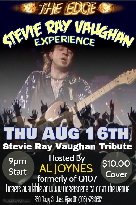 Stevie Ray Vaughan tribute featuring