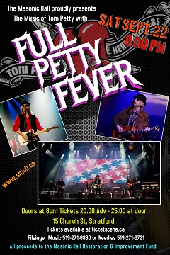Full Petty Fever - Tom Petty Tribute