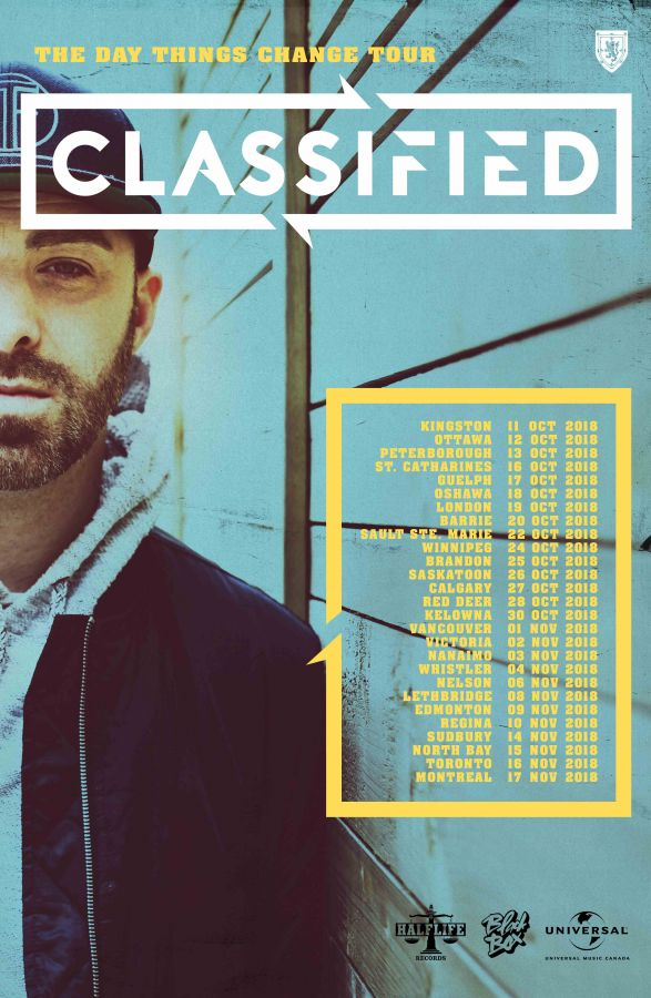 Classified Live In Kingston October 11th 2018