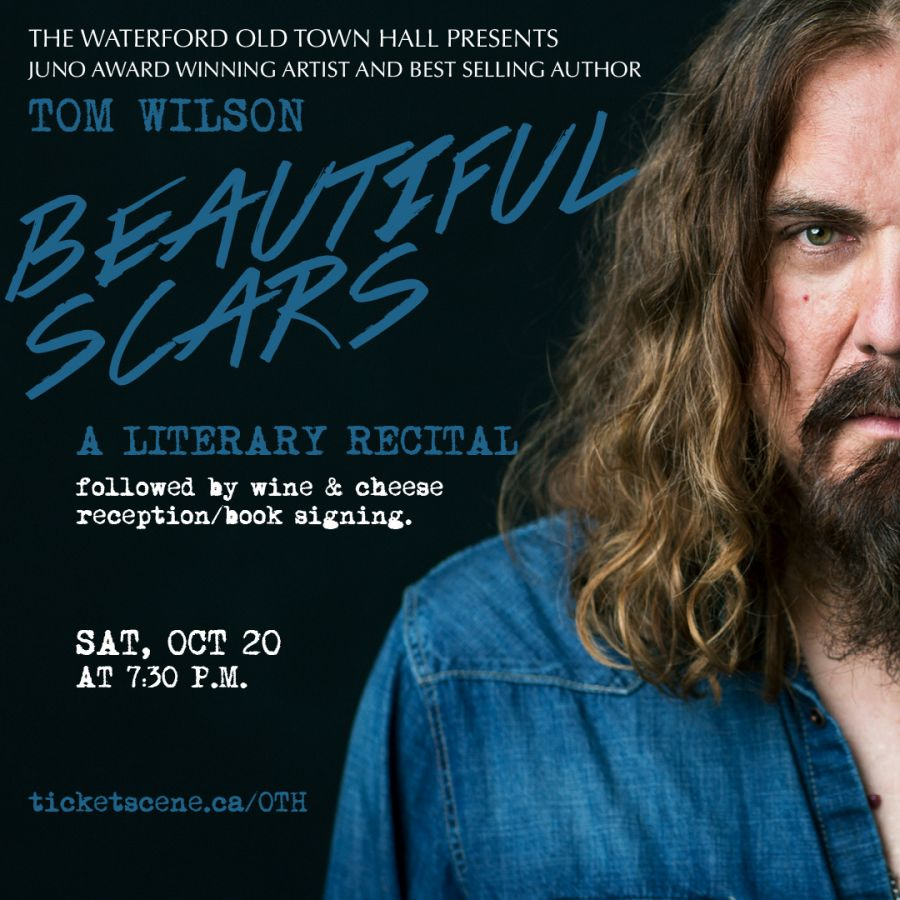Tom Wilson: Beautiful Scars Literary Recital