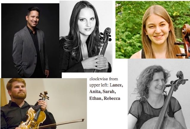 Five fine musicians from our great orchestra