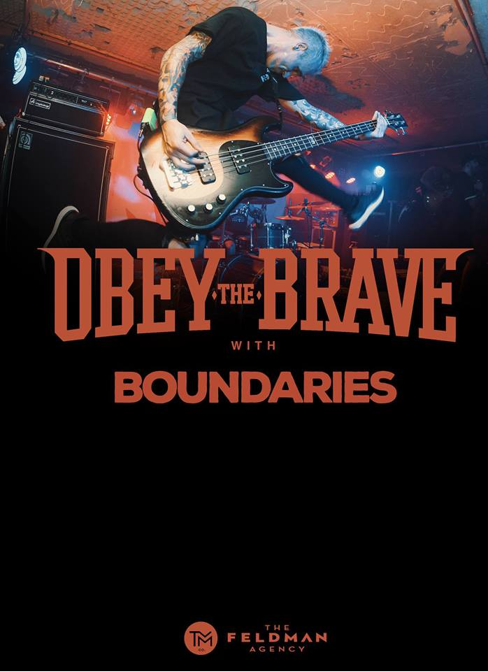Obey The Brave w/ Boundaries + Guests