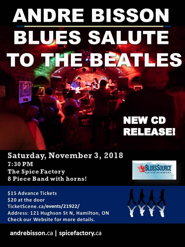 Blues Salute to the Beatles with Andre Bisson