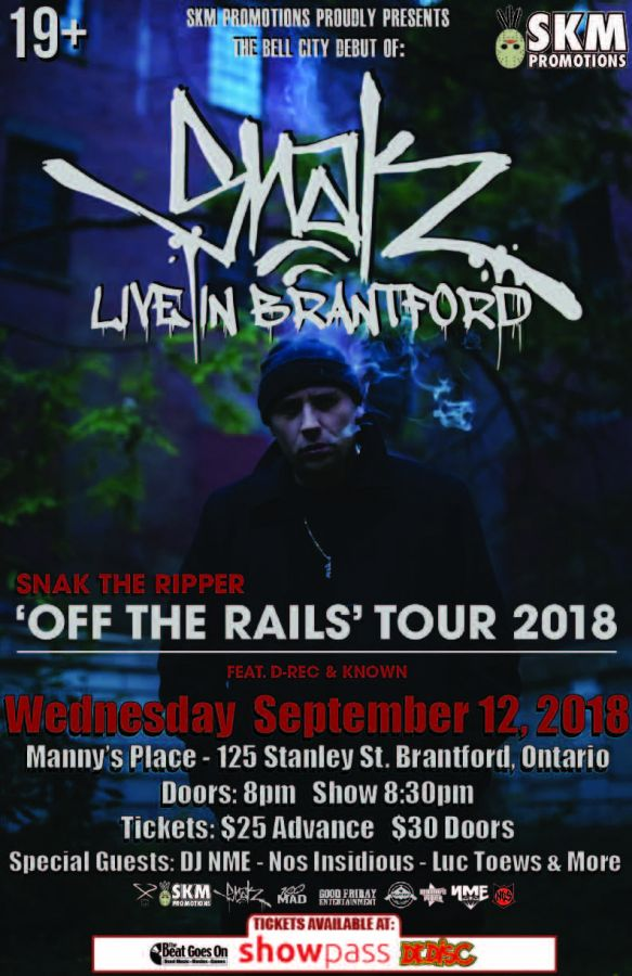 Snak The Ripper Live In Brantford