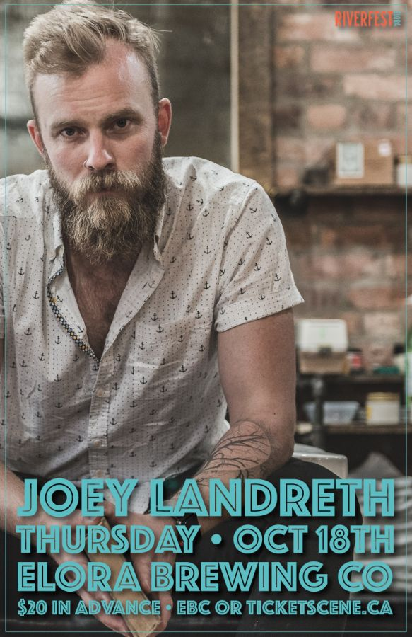 Joey Landreth @ The Elora Brewing Co.