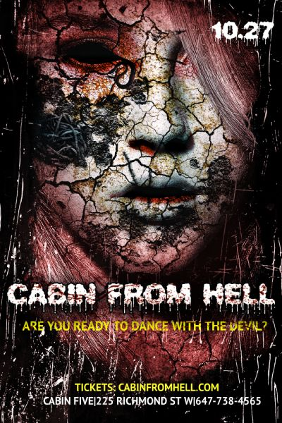 Cabin From Hell Toronto Halloween 2018 Costume Party Event 2018