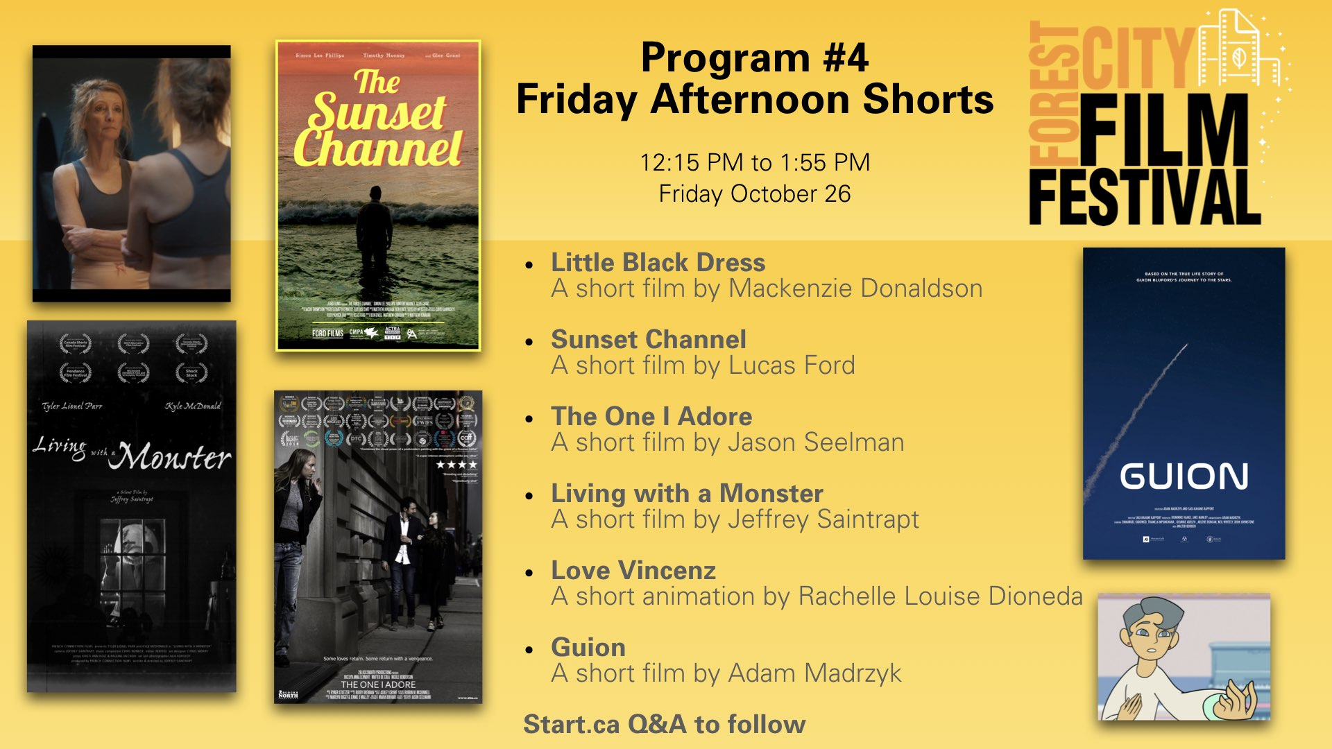 Forest City Film Festival 2018 - Friday Shorts - Program #4