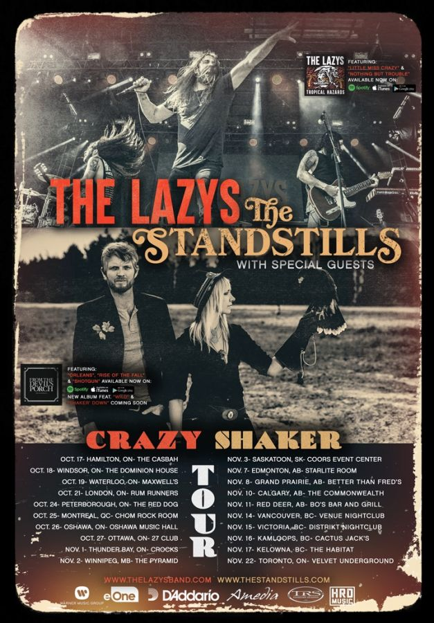 The Standstills and The Lazys- Live at the Dominion House Tavern