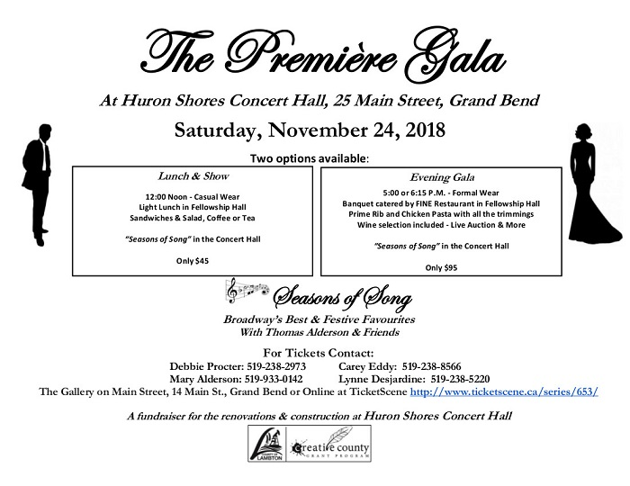 The Première Gala - Evening Gala (Second Seating) - SOLD OUT!