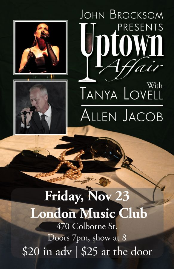 Uptown Affair with Tanya Lovell & Allen Jacob