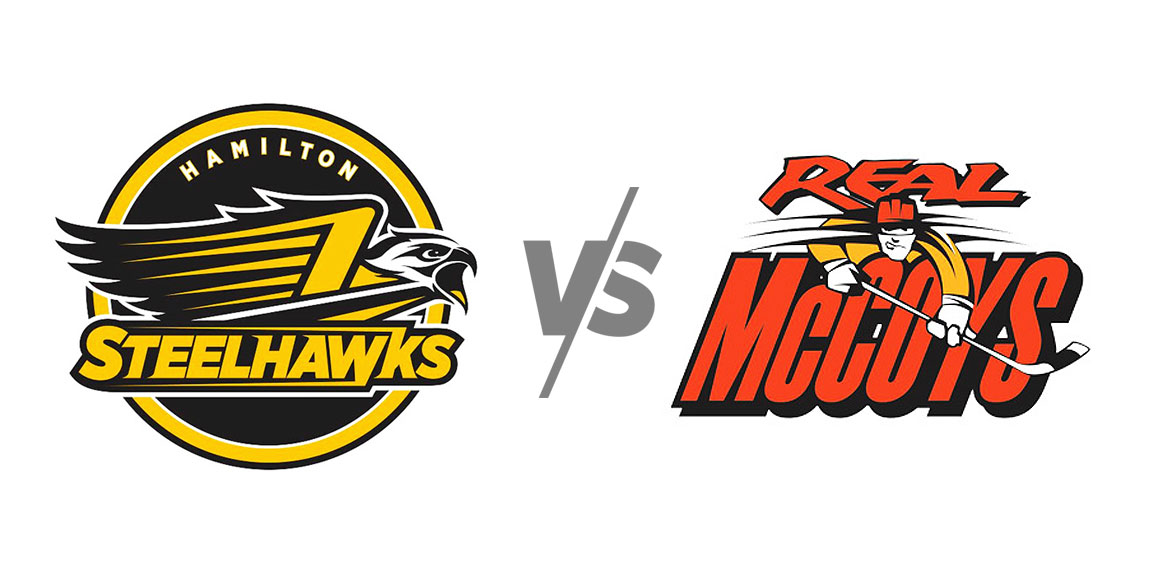 Hamilton Steelhawks vs Dundas Real McCoys