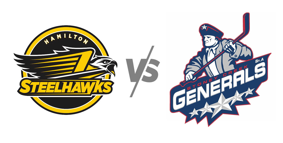 Hamilton Steelhawks vs Stoney Creek Generals