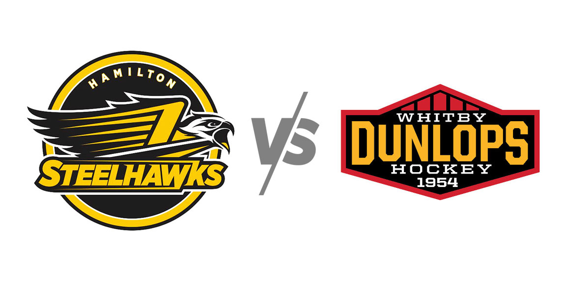 Hamilton Steelhawks vs Whitby Dunlops